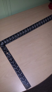Mayer steel Rafter framing square ( used )