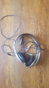 Computer Headset with Mic, Volume Control and Mute Function