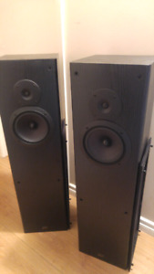 Hi-Fi floor standing speakers