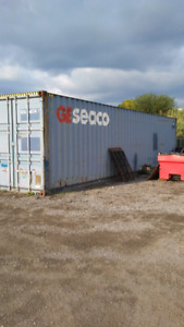 40 foot high Cube shipping container cabin