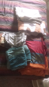 Assorted bedding