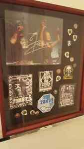 Rob Zombie Signed Photo & Display Case!