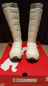 Woman's Puma Winter Boots - Size 8.5 US