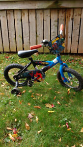 "Spiderman Bike 12"","
