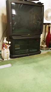JVC Tv and matching stand $20