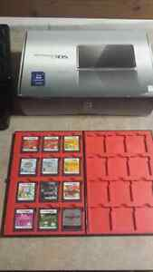 3ds with 11 games charger and box