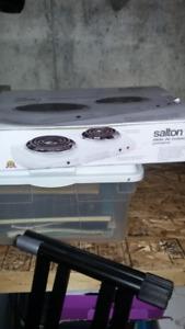 rond électrique Salton pour camping