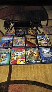 PLAYSTATION 2 SLIM INCLUDE 2 CONTROLLER + MEM CARD + 14 GAMES