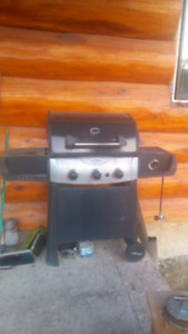 BARBEQUE with SIDE COOKER