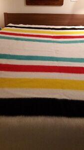 Vintage 1960's Hudson's Bay Point Blanket
