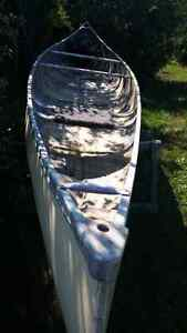 Canoe - 16.5 ft Fiberglass Kawartha Lakes Peterborough Area image 6