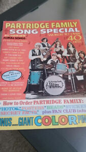 Partridge Family 1972 Song Special Magazine
