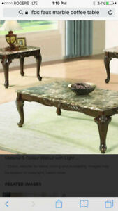 Coffee table set 2pc