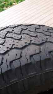BF Goodrich Rugged Trail Tires  265/70/r16 Cambridge Kitchener Area image 3