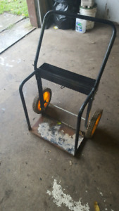 Cutting torch cart