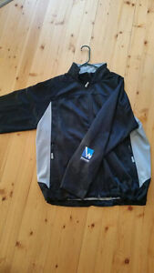 XL Mens Fleece Jacket with Whitewater logo.