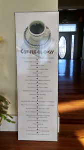 Coffeeology picture/board