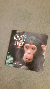 The Nature of Great Apes book, new