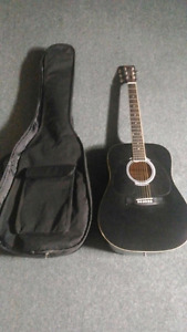 Guitar plus case