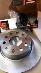 Vw rear rotors and pads 272mm