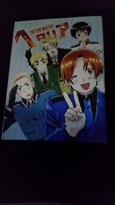 Hard cover Hetalia anime art book