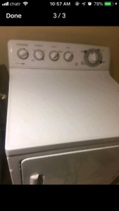 Gas dryer good work conditions delivery available