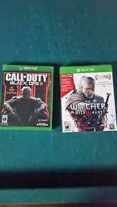 Black ops 3 + witcher 3