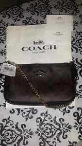 Coach Leather Wallet/Wristlet- Half Price! BNWT