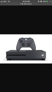 Xbox one S halo edition