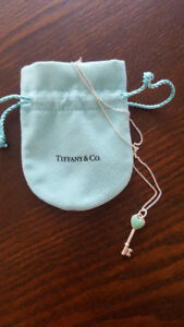 Tiffany Keys Heart Key Pendant Chain