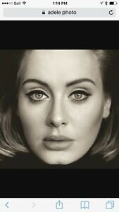 Adele tickets red section 124