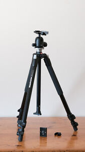Low use Manfrotto 190xb tripod kit (with rc2 ball head)