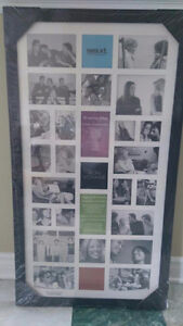 Excellent condition 28 picture Collage frame. St. John's Newfoundland image 1