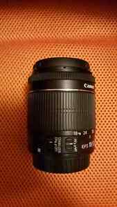 Canon EF S 18-55mm lens