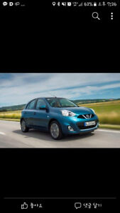 2015 Nissan Micra (Green)(5.0000 K only) + winter tires