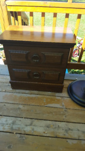 Free-night table and dresser