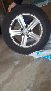 Kumho Solus KH16 P195/65/R15 -  with Rims