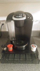 Keurig  Coffee Maker and Pod Organizer