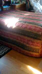 KING size Bedspread, curtains, pillow shams