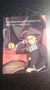 Impressionist and Modern Art including ceramics by 20th century