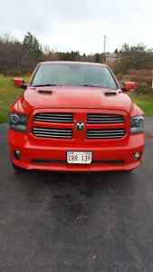 2013 Ram sport quad cab with 83k Km, full extended warranty