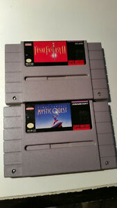 Final Fantasy 2 et Mystic Quest