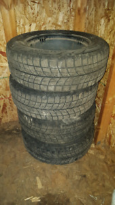 Bridgestone Blizzak on rim tires 205/65R15 94R