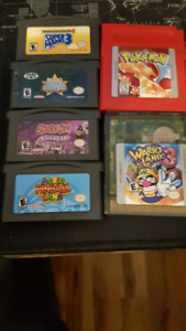 Lot gameboy advance et gameboy