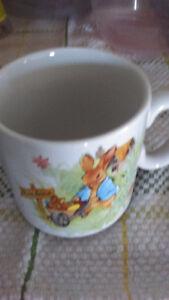 1980's Laura Secord Child's Easter Mug