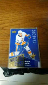 This year's upper deck hockey shooting stars cards