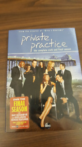 Private Practice The Complete Sixth Season DVD set