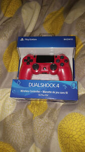 Brand New ps4 controller - red