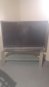 """52"""" TV & Stand"""
