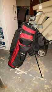 Allied Golf Clubs with Tripod Bag